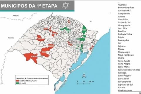 Covid-19: RS ampliará testagem populacional em mais de 7 mil exames diários