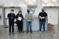 Panvel doa máscaras e álcool gel para a Federação Gaúcha de Futebol
