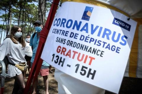 França torna obrigatório teste de Covid-19 para viajantes do Brasil e mais 15 países