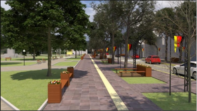 Projeto inclui mudanças, como pedras de basalto e melhora no passeio público para os pedestres
