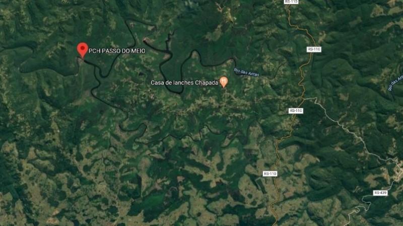 Moradores de comunidades ribeirinhas ao longo do Rio das Antas receberam alerta