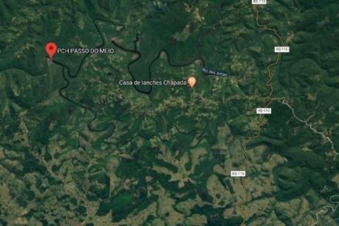 Defesa Civil detecta fissura na barragem de São Francisco de Paula e emite alerta