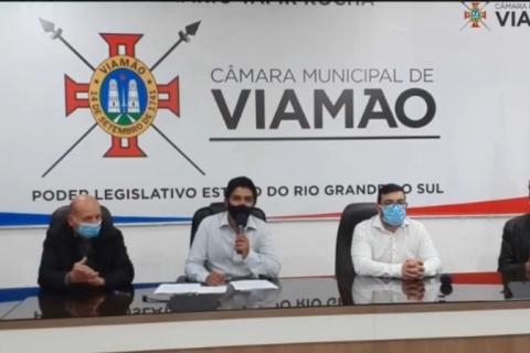 Vereador Evandro Rodrigues assume a prefeitura de Viamão