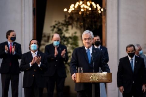 Presidente do Chile, Sebastián Piñera faz ampla reforma ministerial após meses de crise