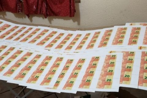 Operação desmantela laboratório de falsificação de moeda no Rio Grande do Sul