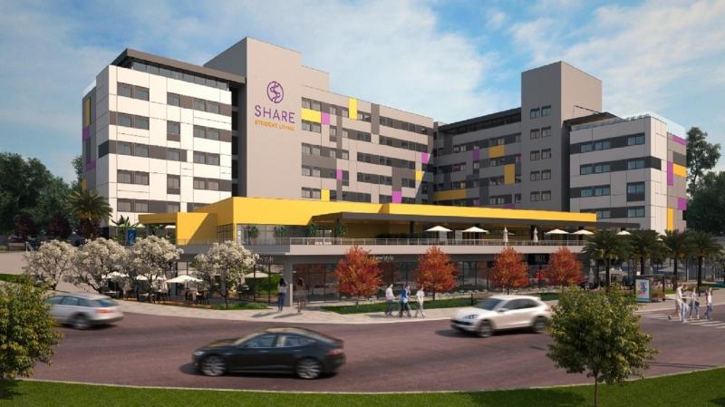 Com investimento de R$ 30 milhões, apartamentos podem abrigar até 445 estudantes da universidade