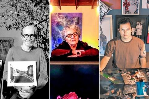 Fotógrafos gaúchos de diferentes gerações mostram suas formas de retratar