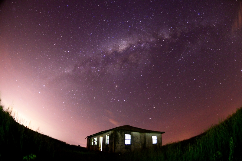 Diogo Zanatta pesquisa estrelas e meteoros há cinco anos