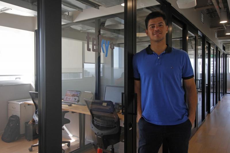 Leonardo Salles é o empreendedor por trás da Teky