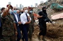 O futuro do Líbano está em jogo, diz Macron em encontro virtual