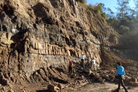 Estudo analisa potencial mineral na Bacia do Paraná