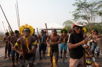 Índios Kayapó chegam ao sexto dia de protestos e bloqueio da BR-163 no Pará
