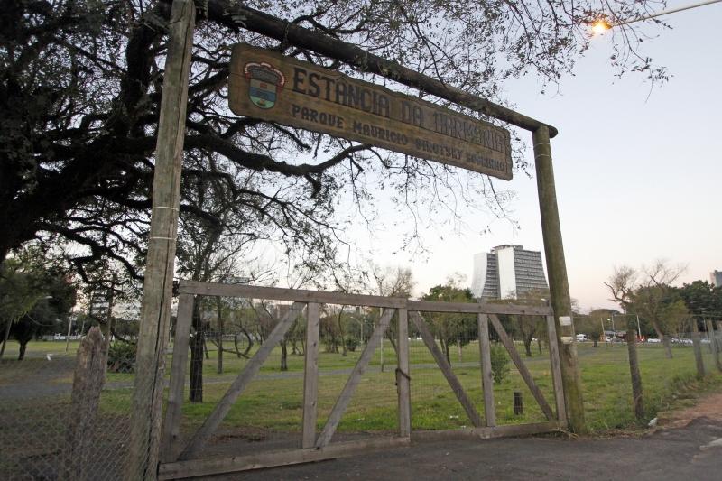Parque, que abriga o acampamento farroupilha, suspenso este ano, tem previsão de investimento