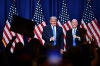Trump pressiona vice a não proclamar vitória de Biden no Congresso na quarta