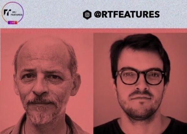 Escritor e produtor fazem transmissão on-line pelo Instagram da RT Features, às 18h