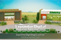 Expointer digital de máquinas atrai visitantes de fora do Brasil