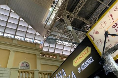 Mercado Público instala luzes de emergência em lojas e áreas comuns