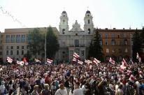 Bielorrússia registra dia de protestos contra a reeleição de Alexander Lukashenko