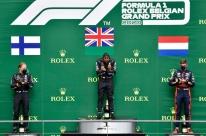 Lewis Hamilton vence o GP da Bélgica