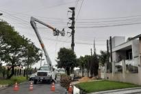 Fornecimento de energia volta ao normal na área da CEEE-D