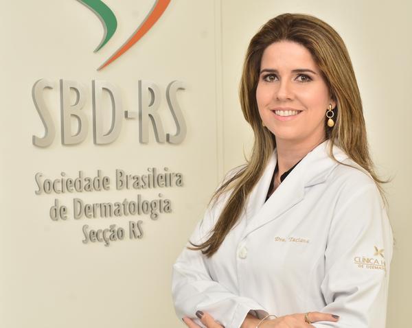 Taciana DalForno Dini preside a Sociedade Brasileira de Dermatologia/RS