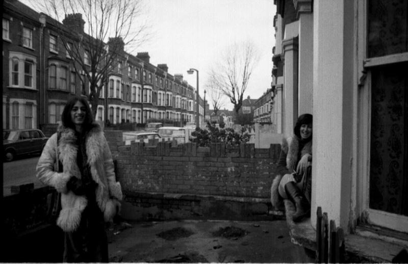 Caio F morou com a produtora cultural Sandra La Porta em Londres, em 1974