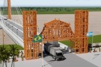 Ministro garante conclusão de ponte ligando Porto Xavier à Argentina