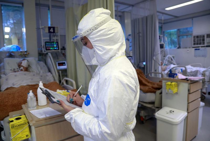 Hospitalizações em UTIs teve grande variação nas duas últimas semanas na Capital