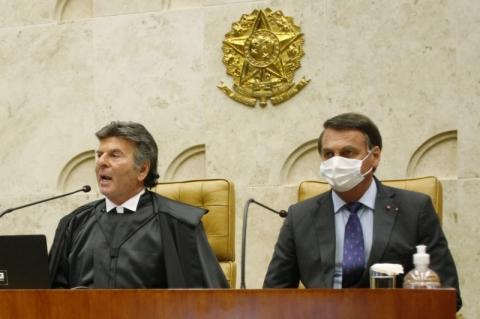 Luiz Fux diz que Supremo não será subserviente e elogia Lava Jato