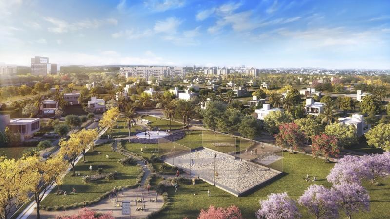 Maquete eletrônica mostra como será o empreendimento Guaíba Park