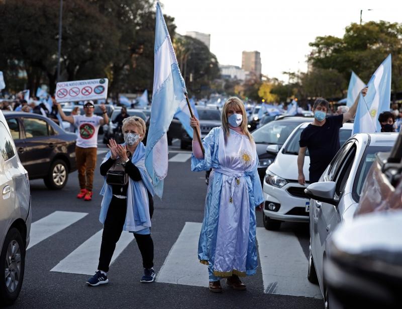 Conhecida como ♯Marcha13STodosaLasCalles (todos às ruas), manifestação foi convocada por meio desta hashtag pelas redes sociais