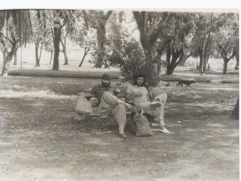 Pedro Osório e Jacaré em viagem retratada na obra Terra adentro, assinada pelo trio