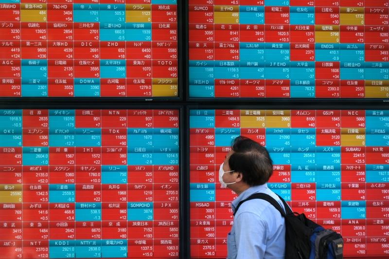 Mau humor na Ásia veio ainda na esteira de um forte movimento de liquidação nas bolsas de NY