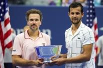 Bruno Soares segue comemorando título do US Open e projeta aposentadoria