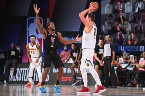 Nuggets batem Clippers, conseguem virada histórica na semi e vão à final do Oeste