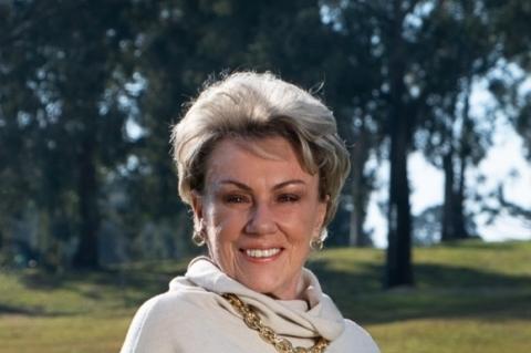 Regina Bellinilidera evento beneficente em Caxias do Sul