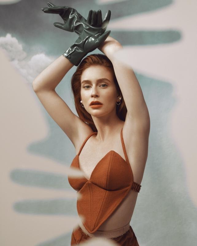 Marina Ruy Barbosa para a revista Glamour