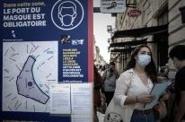 Infecções crescem na França e Europa bate recorde de novos casos de Covid-19