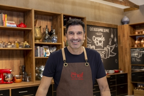 Edu Guedes estreia na tela da Band no comando do 'The Chef'
