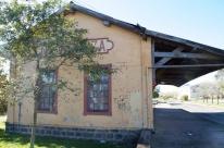 Antiga estação férrea de Farroupilha passa por restauro