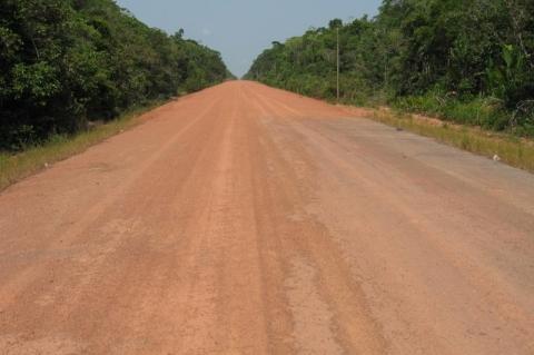 Pavimentação da BR-319 é prioridade do governo, diz Tarcísio de Freitas
