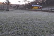 Inverno se despede com geada e temperaturas baixas no RS nesta terça-feira