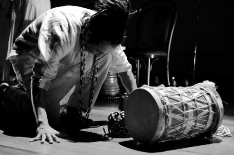 No sopapo e no gogó, Richard Serraria apresenta projeto cultural 'Sopaporiki'
