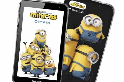 Positivo lança tablet dos Minions em parceria com a Universal
