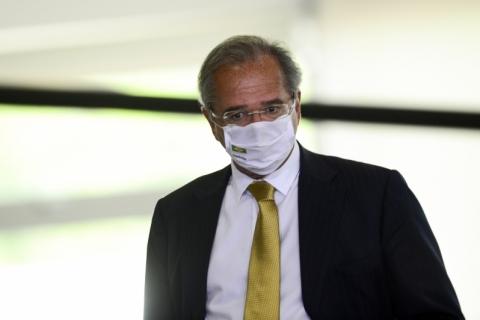 Guedes se reúne com líder do governo na Câmara para debater reforma tributária