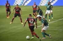 Após disputa de liminares, Palmeiras e Flamengo empatam em 1 a 1 pelo Brasileirão