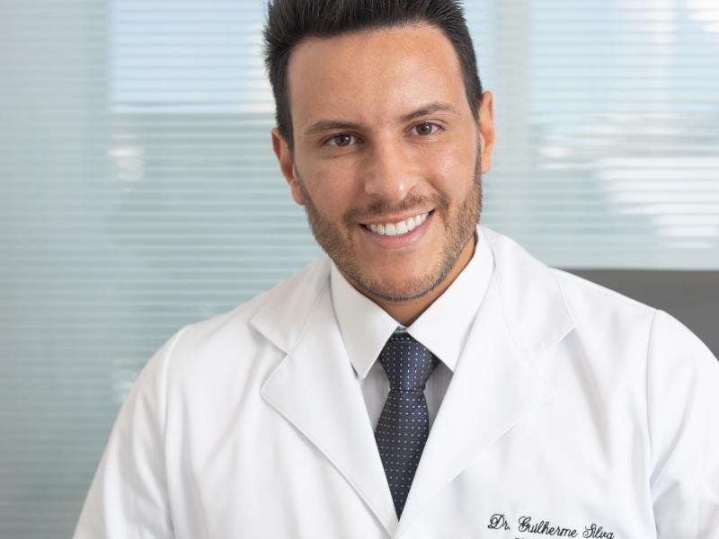 O fonoaudiólogo Guilherme Silva