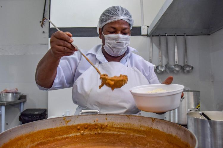 Novo espaço de distribuição de refeições funcionará no Eixo Baltazar