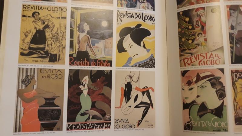 Publicação da Editora da Ufrgs reproduz muitas capas feitas por artistas ilustradores