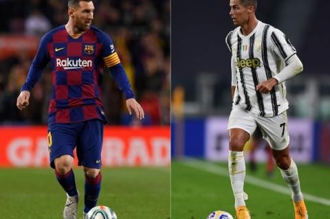 Liga dos Campeões terá duelo entre Messi e Cristiano Ronaldo na fase de grupos